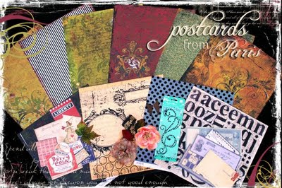 Postcards from Paris Kit
